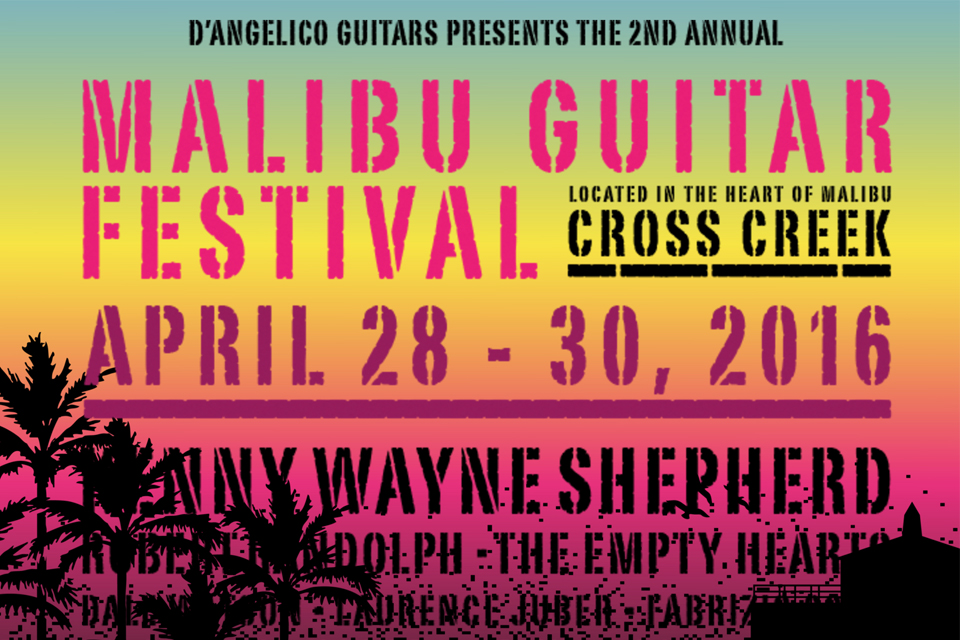 Malibu Guitar Festival - Malibu Beach Inn blog